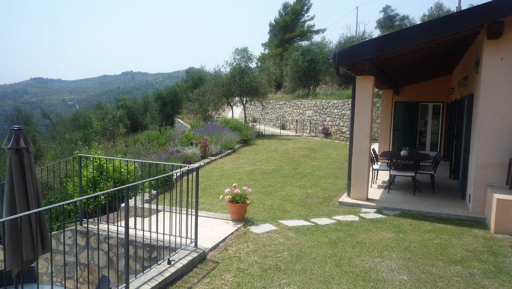 Villa and View